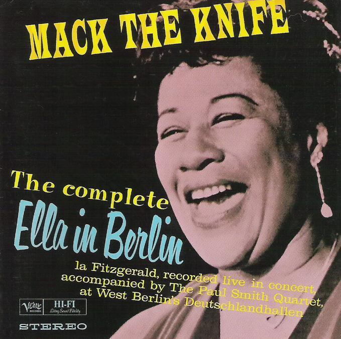 Ella Fitzgerald - The Complete Ella in Berlin (1960) CD cover FL