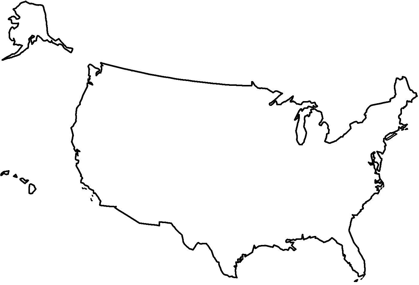 w-usa-mapa-konturowa